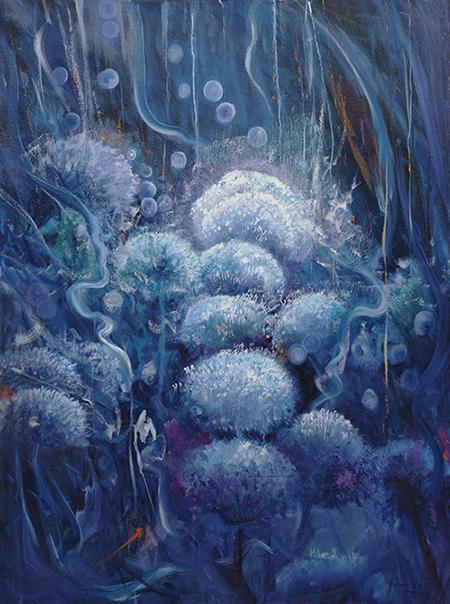 Cuadro moderno, Modern art, Pintura moderna, artista Yolanda Pinto