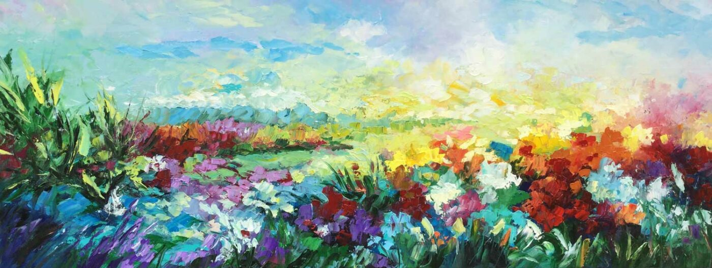 Yolanda Pinto, clases de Pintura oleo, Artista colombiana